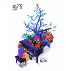 Affiche Collectors Jazz in Marciac 2018
