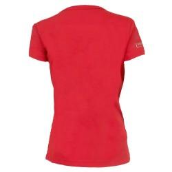T-shirt femme rouge Ducs d'Angers