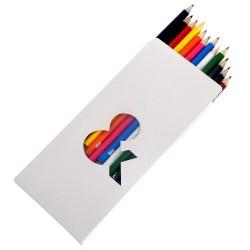 Boîte de 12 crayons de couleurs Julien Doré