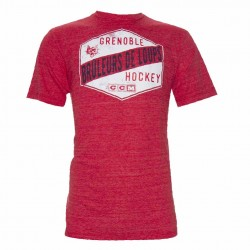 T-shirt ccm supporter rouge Brûleur de Loups