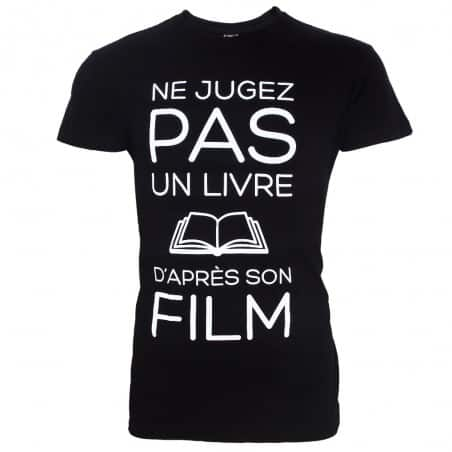 T-shirt Ne jugez pas