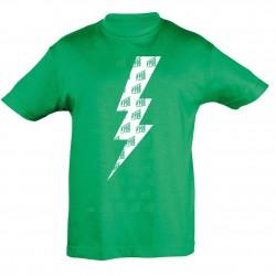 T-shirt Enfant Eclair Vert Printemps de Bourges 2019