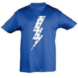 T-shirt Enfant Eclair Bleu Printemps de Bourges 2019