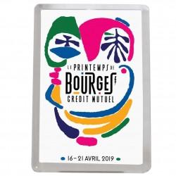Magnet affiche Printemps de Bourges 2019