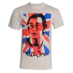 T-shirt Elton John Union Jack