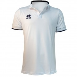 Polo marine et blanc Team France FFSNW