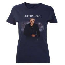 T-shirt femme affiche Julien Clerc