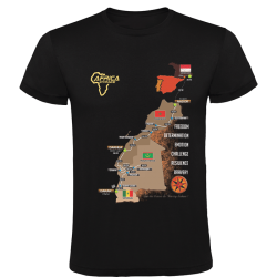 T-shirt enfant Logo Africa Race noir