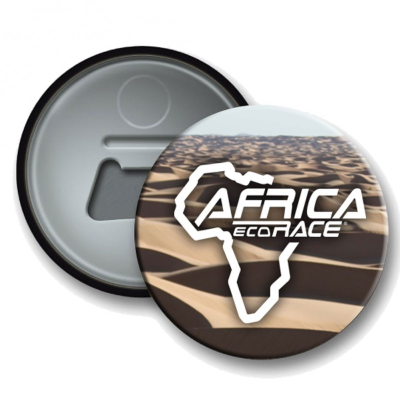 Badge Decapsuleur Africa Race Beige