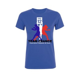 T-shirt supporter Equipe de France de Boxe