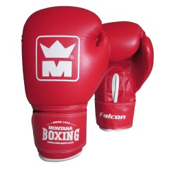 Gants multiboxe PU FALCON - rouge