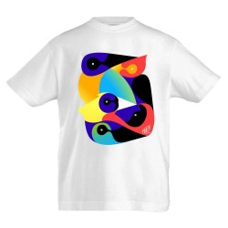 T-shirt enfant affiche Printemps de Bourges