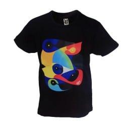 T-shirt enfant affiche noir Printemps de Bourges