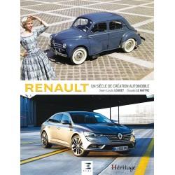 Livre Renault, un siècle de création automobile