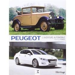 Livre Peugeot, l'aventure automobile