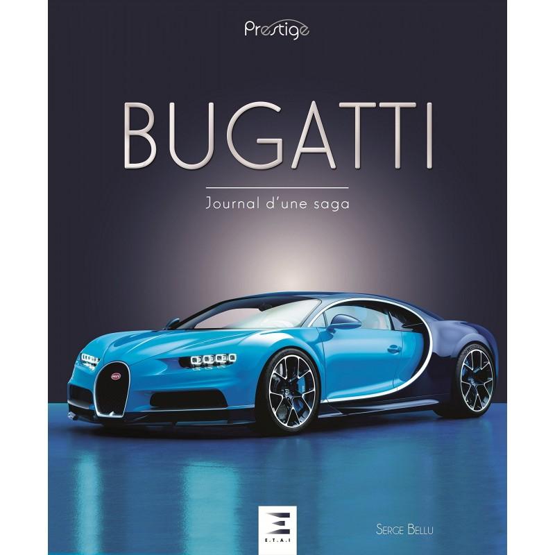 Livre Bugatti, journal d'une saga – collection Prestige