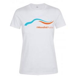 T-shirt femme Mondial de l'Automobile