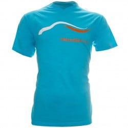 T-shirt Elipse Bleu Mondial de l'Automobile