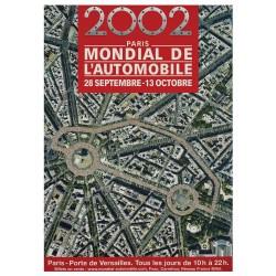 Affiche Vintage 2002 Mondial de l'Automobile