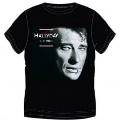 T-shirt Johnny Hallyday Je Te Promets