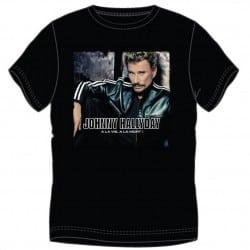 T-shirt Johnny Hallyday A la vie A la mort !