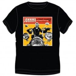 T-shirt Johnny Hallyday A Tout Casser