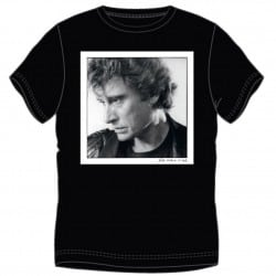 T-shirt Johnny Hallyday Portrait
