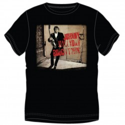 T-shirt Johnny Hallyday Roughtown