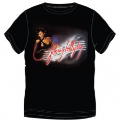T-shirt Johnny Hallyday Portée