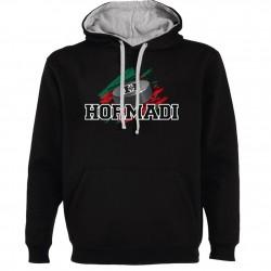 Sweat NOIR Palet + Logo Hormadi